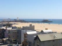 圣塔蒙尼卡码头洛杉矶 免版税库存图片