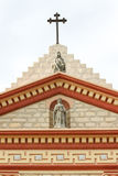 圣塔巴巴拉使命十字架 免版税库存图片