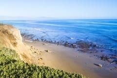圣塔巴巴拉加利福尼亚海滩 免版税库存图片
