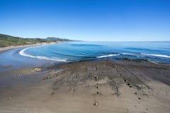 圣塔巴巴拉海岸线 图库摄影
