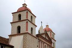 圣塔巴巴拉, CALIFORNIA/USA - 8月10日:在圣诞老人的使命 免版税库存图片