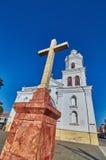 圣塞瓦斯蒂安十字架 免版税库存图片
