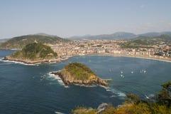 圣塞瓦斯蒂安,西班牙 免版税库存图片