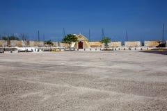 圣塞瓦斯蒂安del Pastelillo堡垒  免版税库存照片