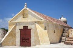 圣塞瓦斯蒂安del Pastelillo堡垒  库存照片