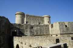 圣塞韦里纳,卡拉布里亚-意大利城堡  库存图片