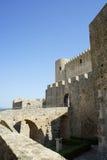 圣塞韦里纳,卡拉布里亚-意大利城堡  免版税库存图片