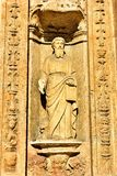 圣多明哥大教堂的艺术品1  免版税图库摄影