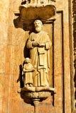 圣多明哥大教堂的艺术品2  免版税库存图片