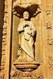 圣多明哥大教堂的艺术品4  免版税库存照片