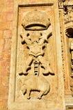 圣多明哥大教堂的艺术品5  免版税库存照片