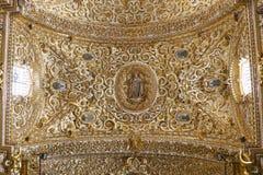圣多明哥寺庙XVIII 免版税库存图片