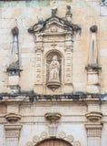 圣多明哥德古斯曼教会在瓦哈卡墨西哥 图库摄影