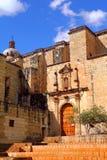 圣多明哥德古斯曼教会在瓦哈卡 免版税库存图片