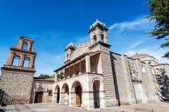 圣多明哥教会在阿亚库乔,秘鲁 图库摄影