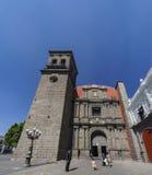 圣多明哥教会外视图  库存图片