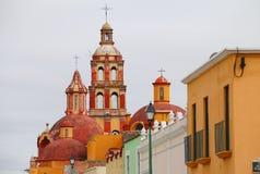 圣多明哥教会III 免版税库存照片