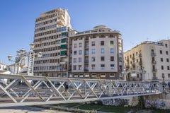 圣多明哥桥梁,马拉加市,西班牙 库存照片