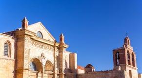 圣多明哥老大教堂  免版税图库摄影