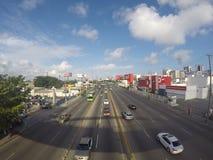 圣多明哥街道 免版税图库摄影