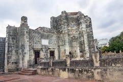 圣多明哥,多米尼加共和国大教堂  免版税库存图片