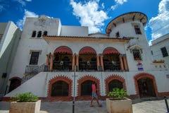 圣多明哥,多米尼加共和国2015年10月30日:大厦在圣多明哥 免版税库存图片