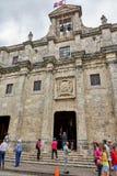 圣多明哥,多米尼加共和国- 2017年3月24日:多米尼加共和国的全国万神殿的外部 最初Jesu 免版税库存图片