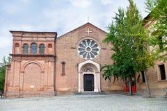 圣多梅尼科,波隆纳,意大利大教堂  免版税库存照片