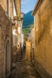 圣多纳托瓦尔迪科米诺,弗罗西诺内 免版税图库摄影