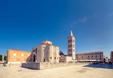 圣多纳特,扎达尔教会  免版税库存图片