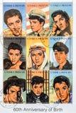 圣多美和普林西比邮票 免版税图库摄影