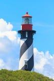 圣奥古斯蒂娜灯塔,佛罗里达 免版税库存图片