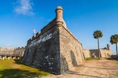 圣奥斯丁堡垒 免版税库存图片
