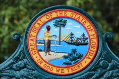 圣奥斯丁-佛罗里达 库存照片