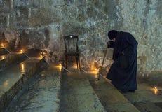 圣女玛丽亚的做法 免版税库存照片
