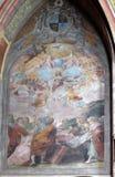 圣女玛丽亚的做法 库存照片