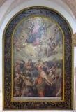 圣女玛丽亚的做法 免版税库存图片