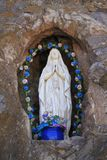 圣女玛丽亚雕塑(圣泽维尔del Bac) 库存图片