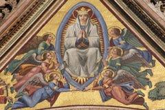 圣女玛丽亚 免版税库存照片