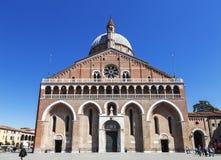 圣安东尼大教堂  帕多瓦 库存照片