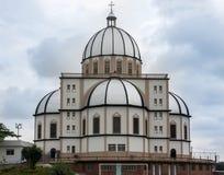 圣安东尼大教堂Vitoria巴西 免版税库存图片