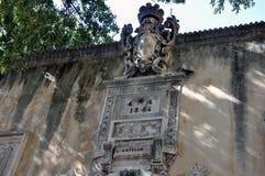 圣安东尼奥城堡门面 图库摄影