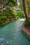 圣安东尼奥河运河 免版税图库摄影