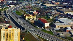 圣安东尼奥,得克萨斯天线高速公路 库存照片