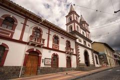 圣安东尼奥de伊瓦拉在厄瓜多尔 库存图片