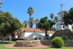 圣安东尼奥de勃拉Mission在加利福尼亚 库存图片