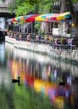 圣安东尼奥Riverwalk 库存照片