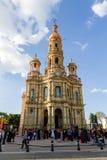 圣安东尼教会- Templo de圣安东尼奥de帕多瓦, Aguascalie 免版税库存图片
