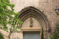 圣安妮教会在巴塞罗那 库存照片