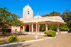圣安妮教会,斯里兰卡 库存图片